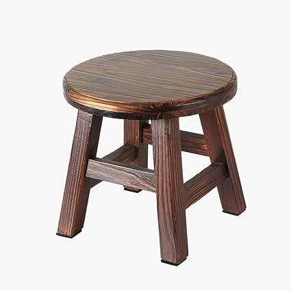 Surprising Amazon Com Sunkini Japanese Antique Wooden Round Stool Beatyapartments Chair Design Images Beatyapartmentscom