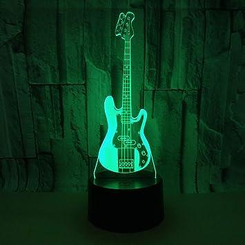 ... Cambio De Botón Táctil Y Cable Usb Guitarra Electrica Acrílico Escritorio Para Niños Dormitorio Regalos De Navidad: Amazon.es: Bricolaje y herramientas