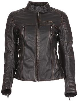 modeka Kalea Lady chaqueta de piel mujer moto Urban - Negro ...