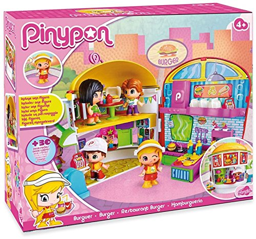 Pinypon Restaurant Burger by Famosa