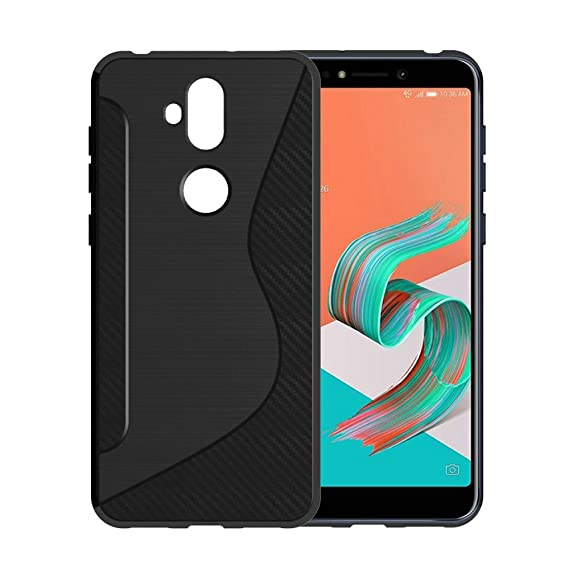 sports shoes 7fc7e 9ba9b LuckQR ASUS ZenFone 5Q ZC600KL Case, Ultra Thin Fashion Shock-Absorption  TPU Soft Case Full Body Protective Phone Cover For ASUS ZenFone 5Q ZC600KL  6