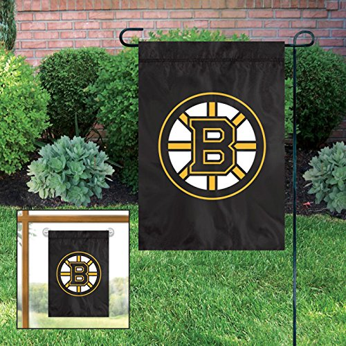- Boston Bruins Embroidered Weather Resistant Nylon Mini Flag 15