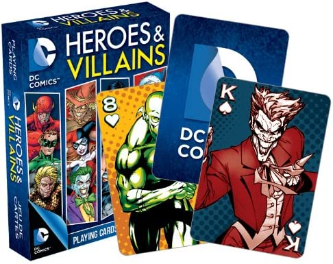 Juego de póquer DC Comics Super Villanos vendedor de Reino Unido
