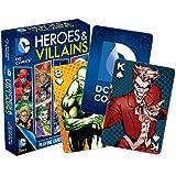 Aquarius DC Comics Heroes and Villains Playing Cards