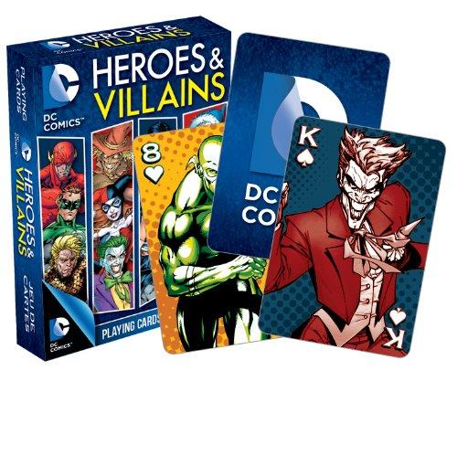 Aquarius DC Comics Heroes and Villains Playing Cards (Comics Playing Cards)