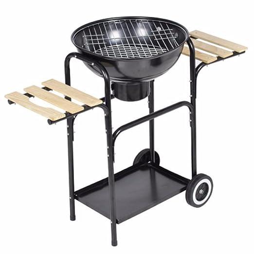 Tavolo Da Giardino Con Barbecue.44 Cm Charcoal Kettle Barbeque Grill Braciere Da Giardino Con