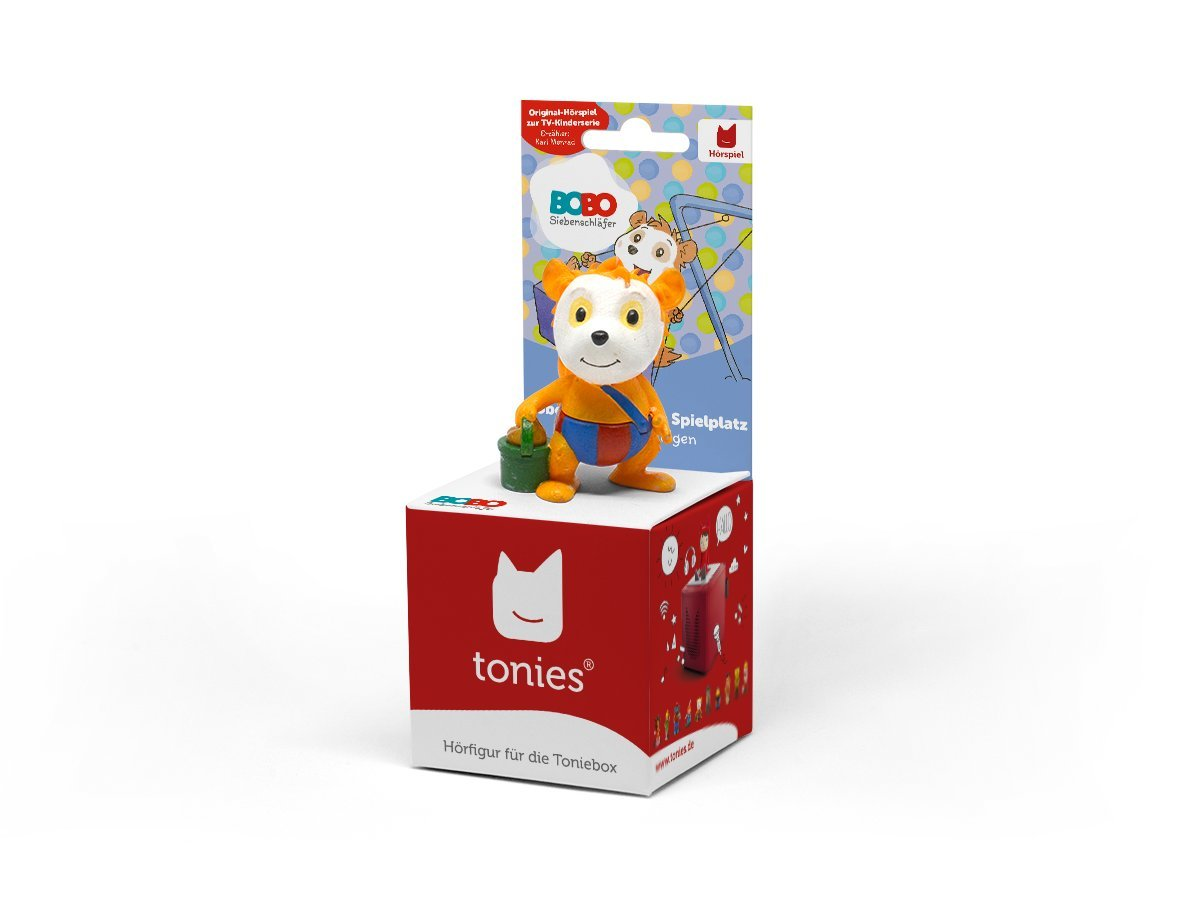 tonies Boxine 10502-1033 Bobos Ausflug zum Spielplatz, Lernspielzeug
