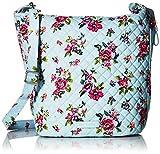 Vera Bradley Carson Hobo Bag, Signature Cotton, Water Bouquet