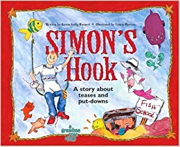 Book Simon's Hook; A Story About Teases and Put-downs by Karen Gedig Burnett (1999-10-01)