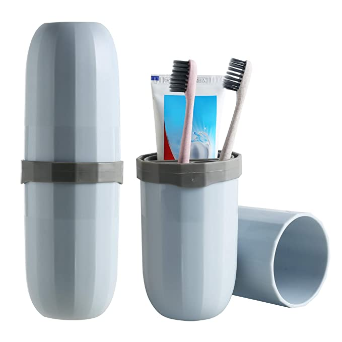 Travel Bathroom Toothbrush Plain Cup Holder Water Drinks Wash Cup Gargle Cups