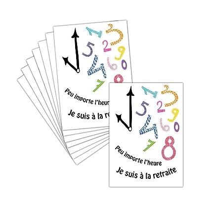 Tarjeta despedida en jubilación - 8 tarjetas - Tarjeta poco ...