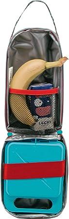 15x22x10 Organizador Interior y Asa de Transporte-Medidas 15 x 22 x 10 cm OFITURIA Tandem Unicornio Bocadillos Infantil Multicolor Bolsa Termica Porta Alimentos con Cremallera