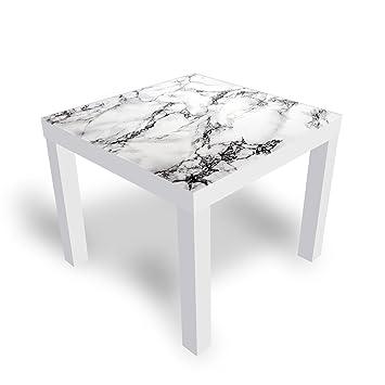 Dekoglas Ikea Table D Appoint En Verre Marbré Avec Plateau