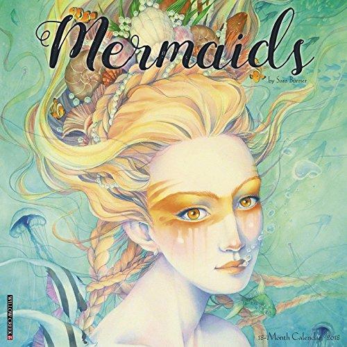 Mermaids 2018 Wall Calendar