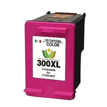 300 Cartuchos Reemplazo para HP 300 XL Compatible cartuchos de tinta para impresora HP Deskjet D1600 D1660 D1663 D2500 D2530 D2545 D2560 D2563 D2566 ...