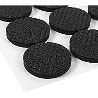 Rubberen voetkussens, Asixx 30-delige zwarte antislip zelfklevende vloerbeschermers Meubels Banktafel Stoel Rubberen…