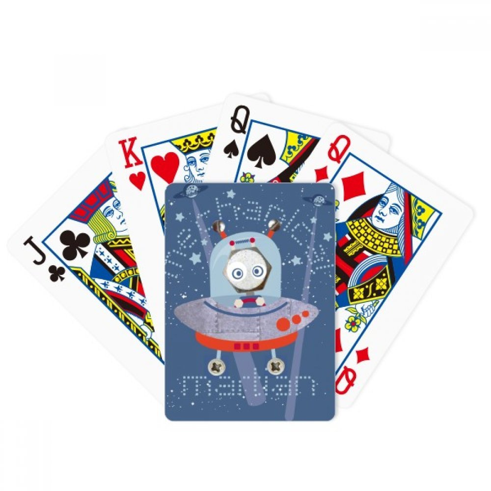 beatChong Universe And Alien Space Travel Poker Playing Card Tabletop Board Game Gift