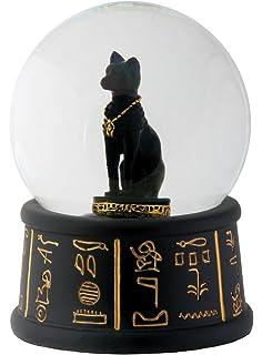 3.5 Inch Cold Cast Resin Egyptian Pharaoh King Tut Water Snow Globe YTC Summit AX-AY-ABHI-49954