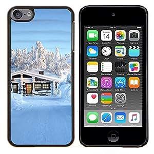 For Apple iPod Touch 6 6th Touch6 Case , Sunset Beautiful Nature 62- Diseño Patrón Teléfono Caso Cubierta Case Bumper Duro Protección Case Cover Funda