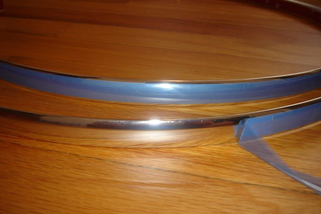 2007-2009 MERCEDES BENZ GL320 GL 320 CHROME WHEEL WELL MOLDINGS FENDER TRIM KIT 4PC 2008 07 08 09 MERCEDES-BENZ X164