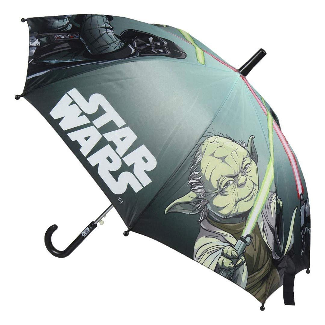 Star Wars Paraguas Tela 45cm (Envio 1 Azar) 5084-438-VERDE-U