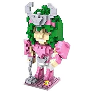 Little Treasures Loz diamond blocks Shun saint seiya figure - I-block fun Mini Building Brick Set great gift game toy 390pcs New in original box