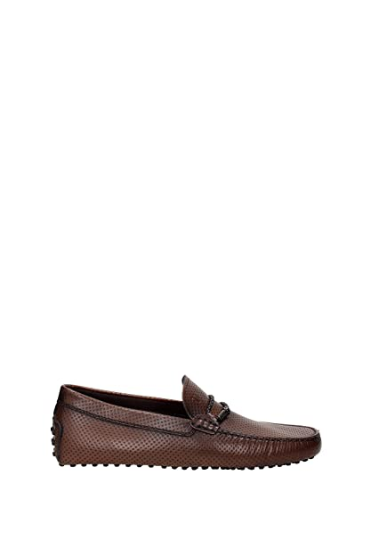 f65dae1841c Loafers Tod s Men Leather Cocoa XXM0GW0L910D9ZS801 Brown 10UK ...