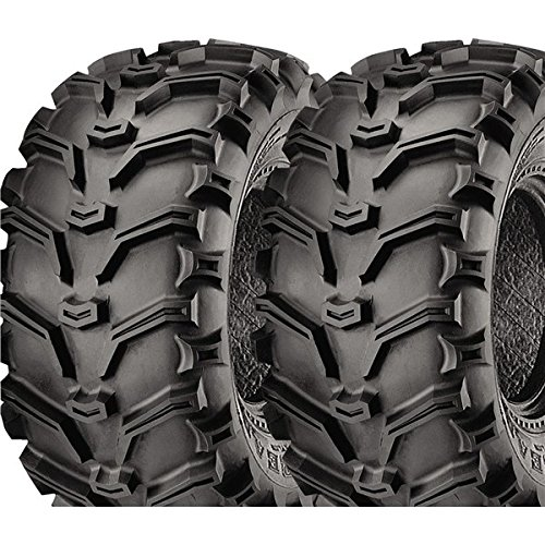 Pair of Kenda Bear Claw (6ply) ATV Tires [23x8-11] (2) by Powersports Bundle (Image #1)