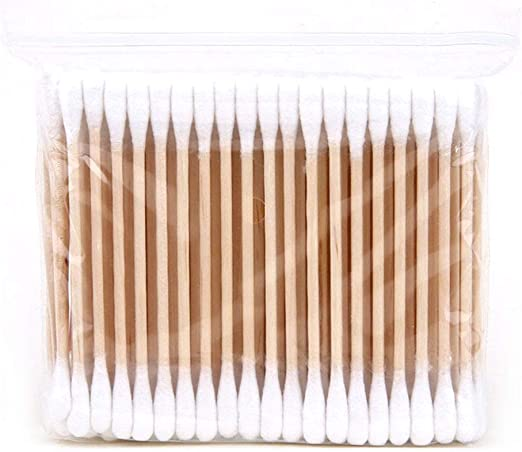 LAAT Hisopo de algodón Desmaquillante Palo de Maquillaje Doble Cabeza hisopos de algodón de bambú para Productos de Belleza Navidad,Halloween,Festival: Amazon.es: Hogar