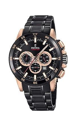 ab1380512e1 Amazon.com  Men s Watch Festina - F20354 1 - CHRONO BIKE 2018 ...