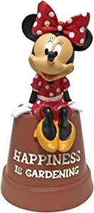 The Galway Company Minnie Mouse Key Hide Diversion Pot, Hand-Painted, Official Disney Licensed Product