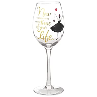 Time of Your Life Wine Glass, 15.8 oz. Wine Glasses