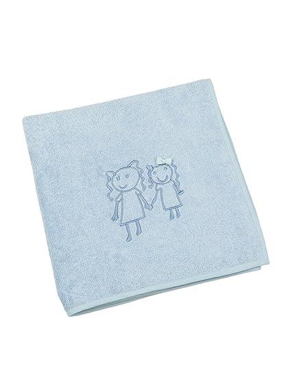 Toalla de Baño bordada para bebés de Rizo - Hecha a Mano