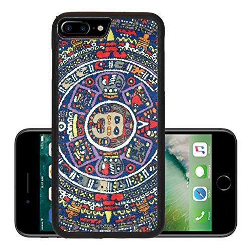 Liili Premium Apple iPhone 7 Plus Aluminum Backplate Bumper Snap Case iPhone7 Plus Aztec Calendar Photo (This Month In History)