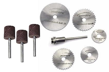 Digital Craft Hss Circular Wood Cutting Saw Blade Discs Rotary Tool