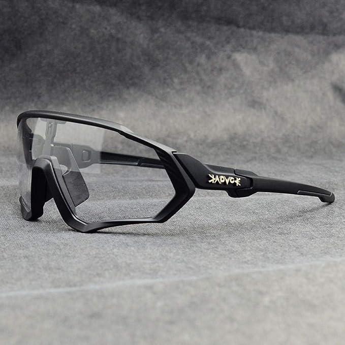 ZZKHSM Gafas fotocromáticas Gafas de ciclismo para exteriores ...