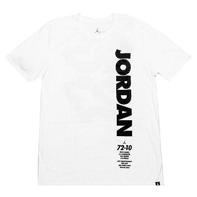 343880788afd1f Amazon.com  Jordan Nike Men s Legacy Tee White BQ0260-100  Shoes