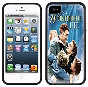 It's A Wonderful Life Handmade iPhone 5 Black Bumper Plastic Case