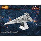 STAR WARS Imperial Star Destroyer Building Kits 3D Scale Models DIY Metallic Nano Puzzle Toys for adult/kids