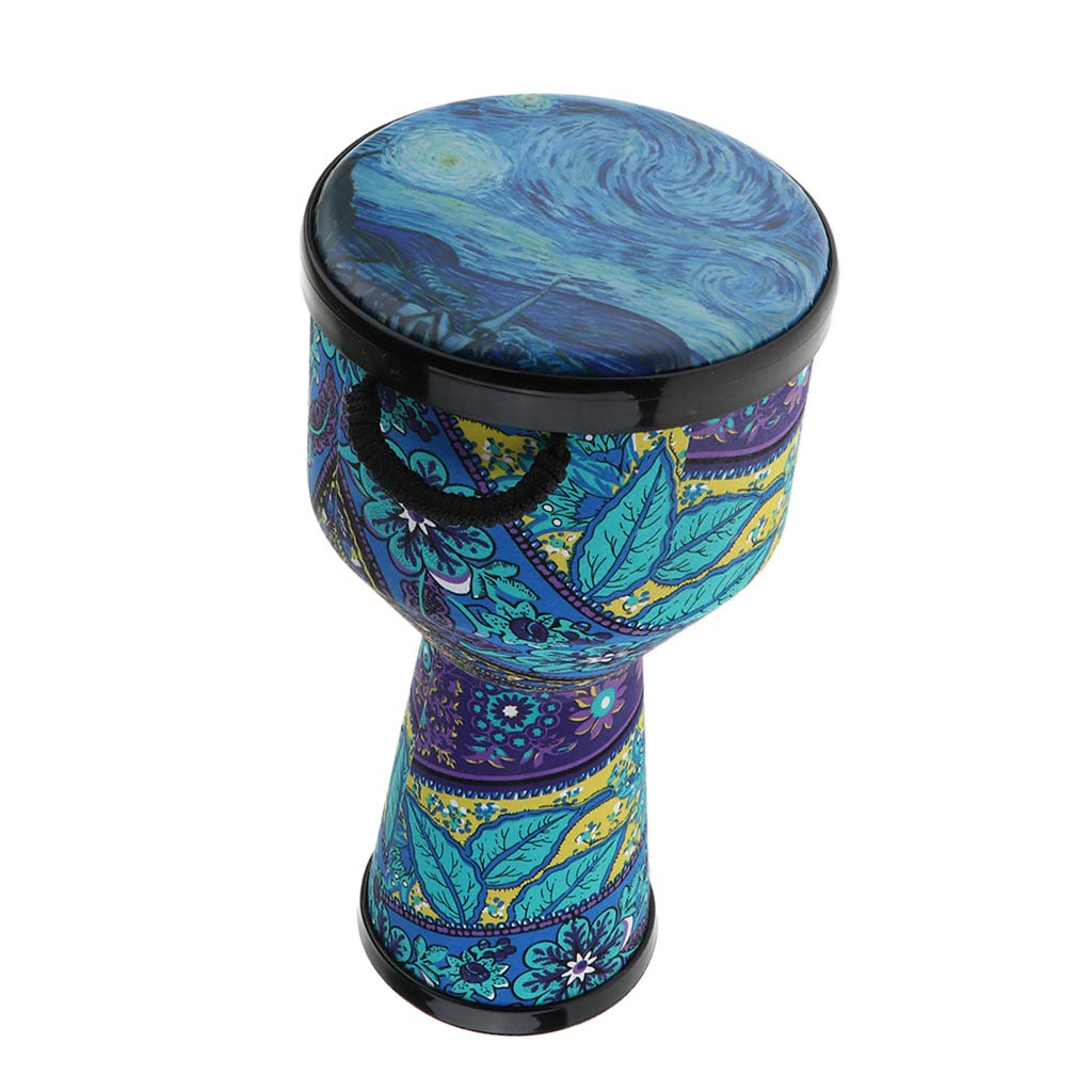 CUTICATE 8 Inch African Dancing Djembe Drum Percussion Instrument Children Adult Gift