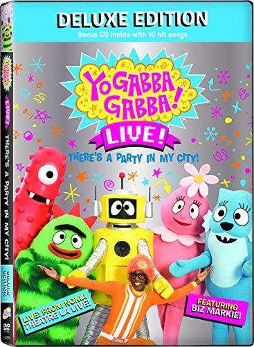 Yo Gabba Gabba: Deluxe Edition Dvd W/CD -