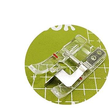 """Pie de unión YICBOR Clear B 1/4"""" Edge para máquinas de coser Husqvarna"""