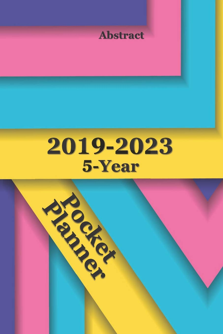 Amazon.com: 2019-2023 5-Year Pocket Planner Abstract 6x9 ...
