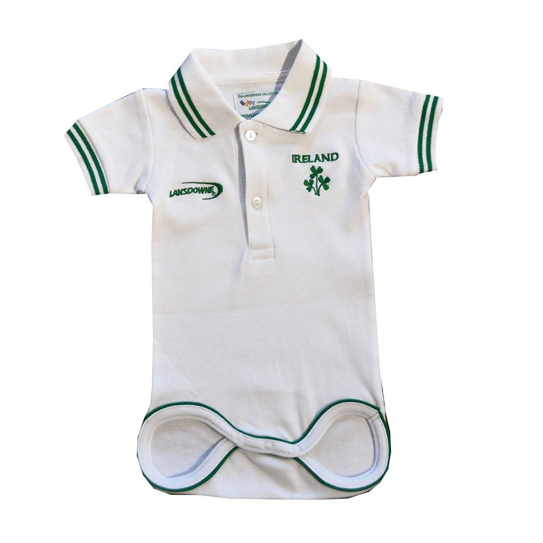 Kids White Ireland Rugby Vest Carrolls Irish Gifts