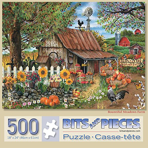 Bits And Pieces 500 Piece Jigsaw Puzzle For Adults