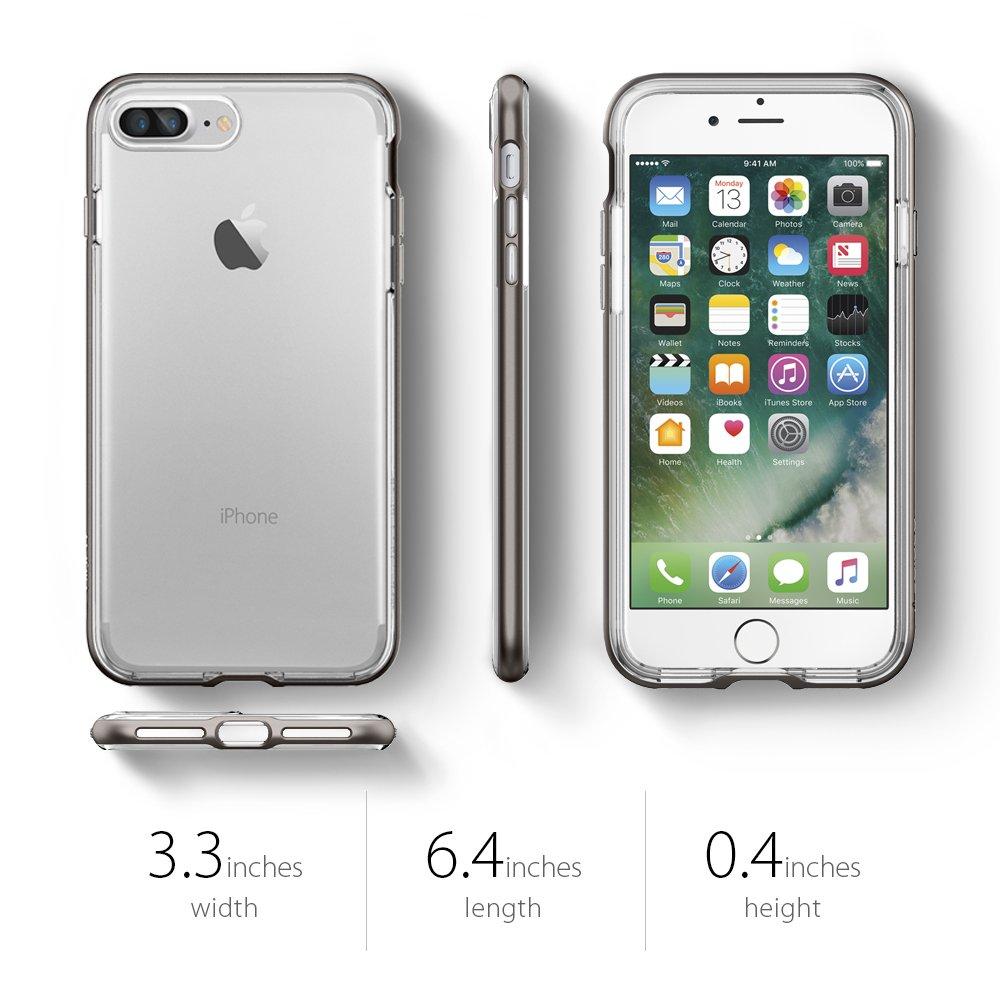 Ốp Spigen Neo Hybrid Crystal iPhone 8 Plus chính hãng