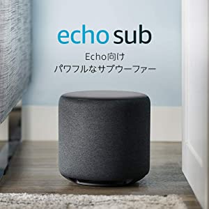 Echo Sub (エコーサブ) -  Echoシリーズ用サブウーファー