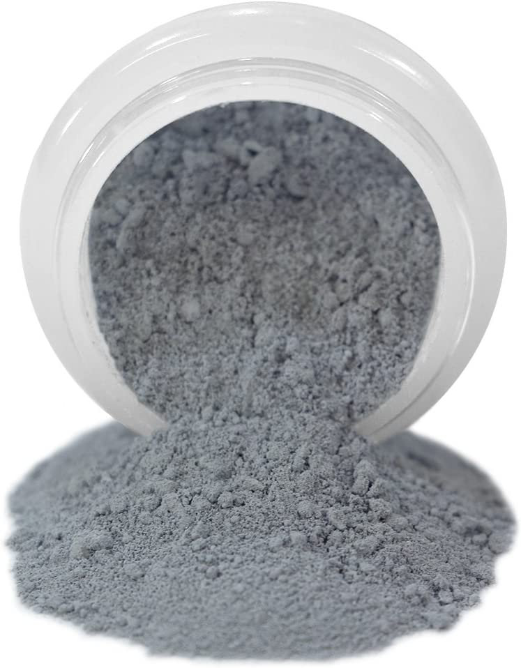 ColorPops by First Impressions Molds Matte White/Natural/Black/Gray 24 Edible Powder Food Color For Cake Decorating, Baking, and Gumpaste Flowers 10 gr/vol single jar