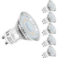 LE GU10 LED Lampe, 4W 350 Lumen LED Leuchtmittel, 2700 Kelvin Warmweiß ersetzt 50W Halogenlampen, 5er Pack