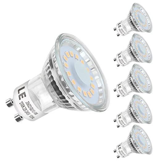 Lighting EVER Bombillas LED GU10, 4W - 50W Halógena, 2700K, Blanco Cálido,